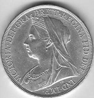 1898 Crown Obverse